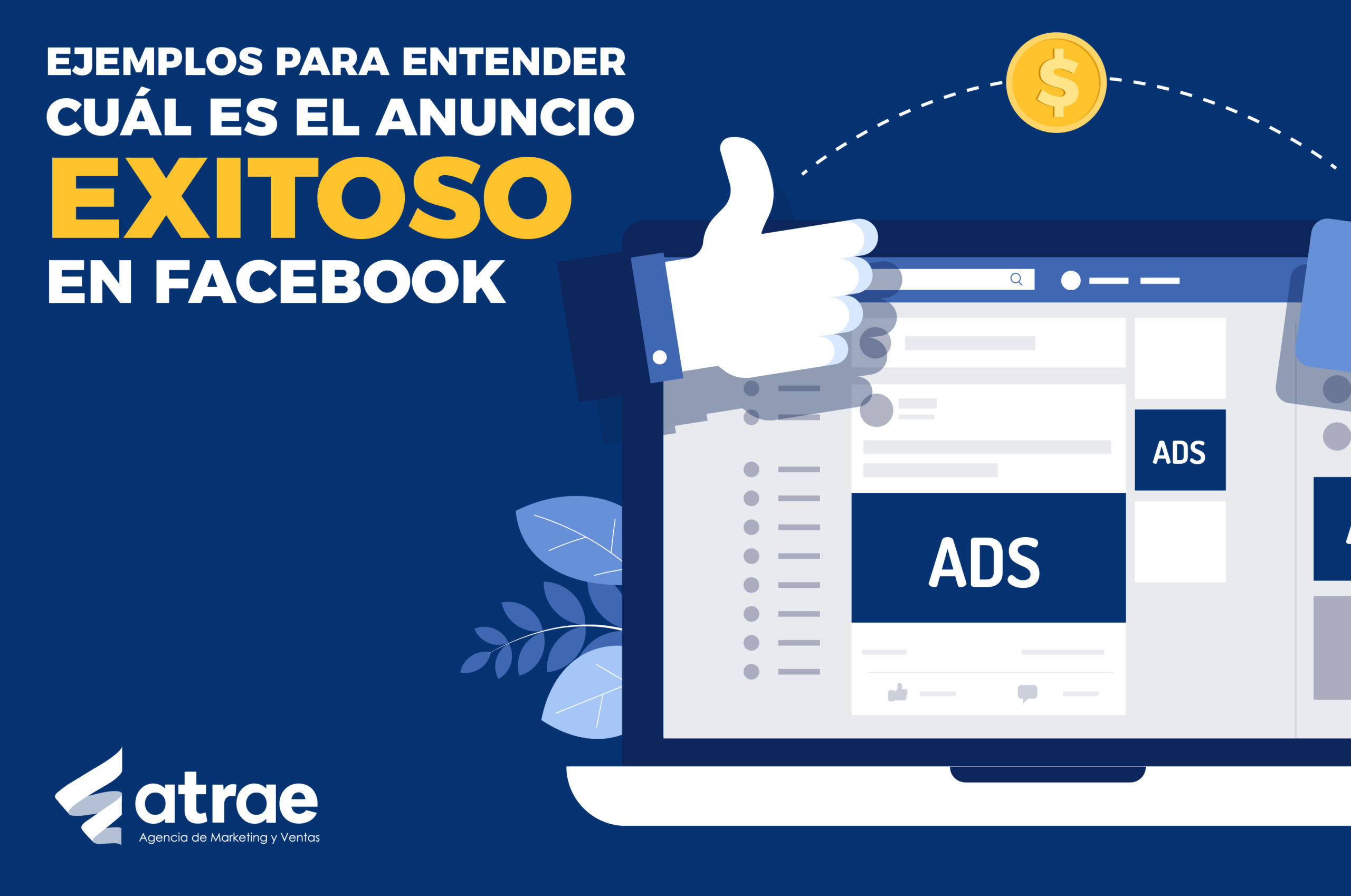 Anuncio exitoso en Facebook ATRAE Agencia especializada en ventas Bogotá Marketing Digital