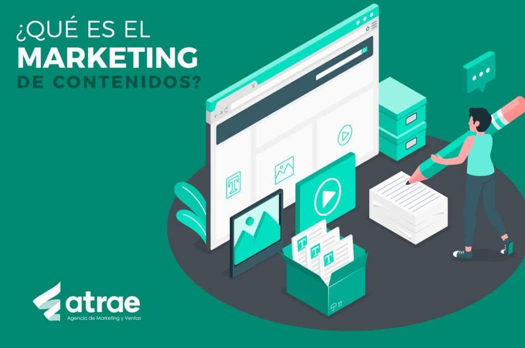 Qué es el marketing de contenidos ATRAE Agencia en embudos de conversión Bogotá