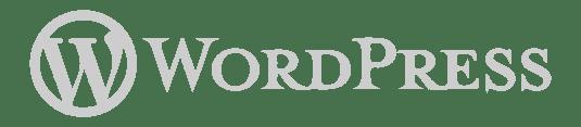 Logo WordPress plataforma de marketing y ventas en Atrae tus mejores clientes
