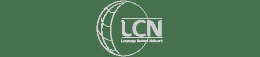 Logo LCN Idiomas cliente de Atrae tus mejores clientes Agencia especializada en ventas Bogotá