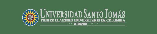 Logo Universidad Santo Tomás Villavicencio cliente de Atrae tus mejores clientes Agencia especializada en ventas Bogotá