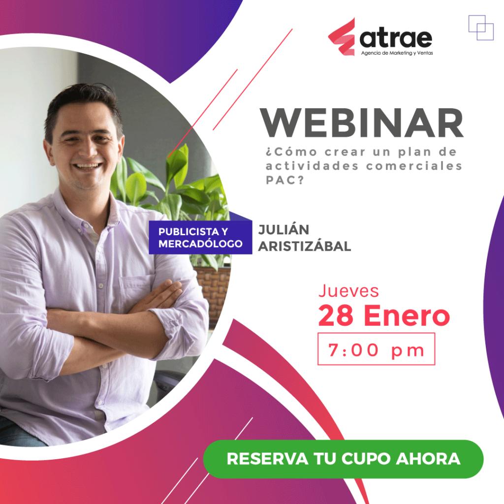 ATRAE Agencia Especializada en embudos de venta Bogotá