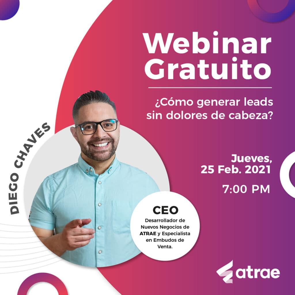 Cómo generar leads sin dolores de cabeza ATRAE Agencia especializada en ventas Bogotá