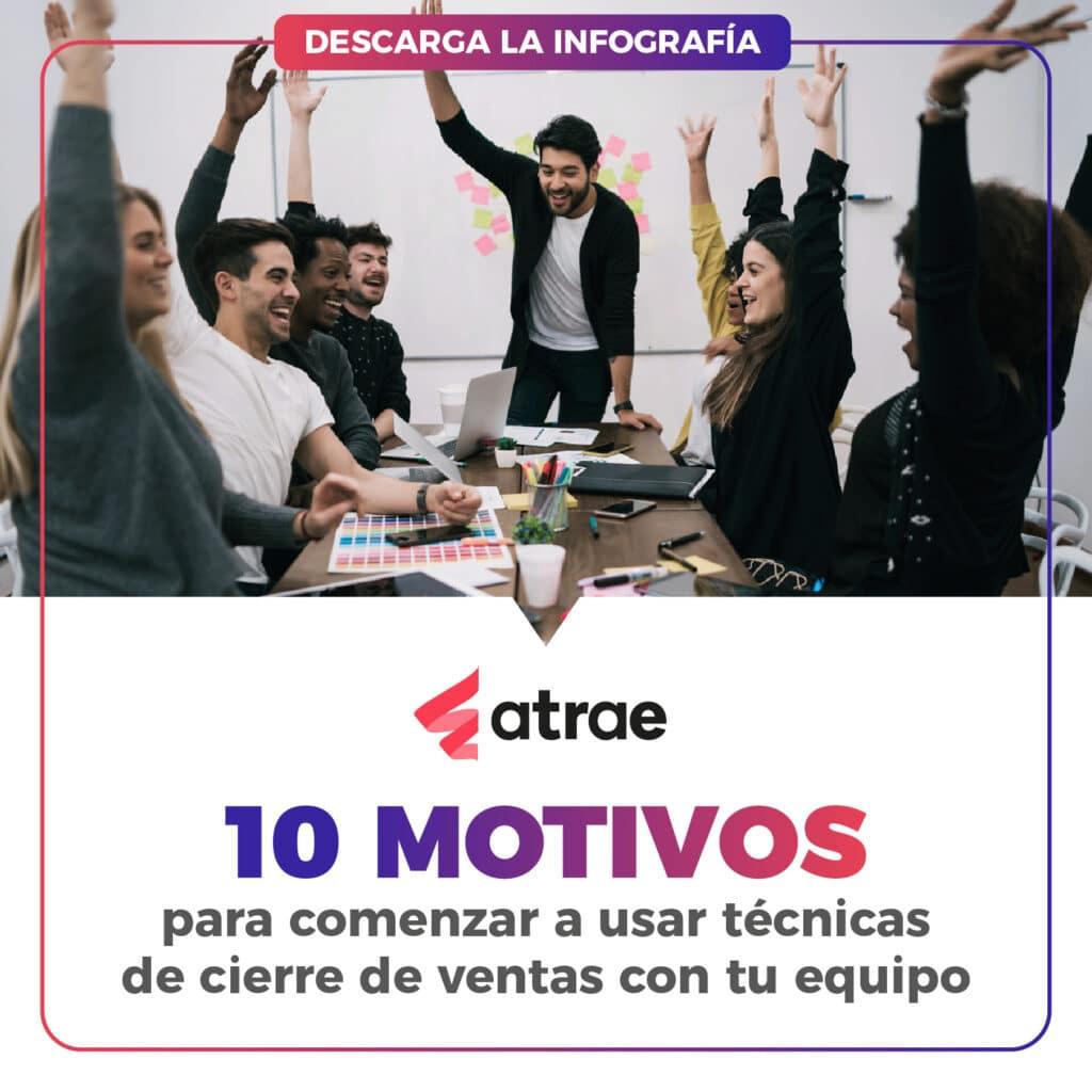 Técnicas de cierre de ventas ATRAE Agencia especializada en ventas Bogotá